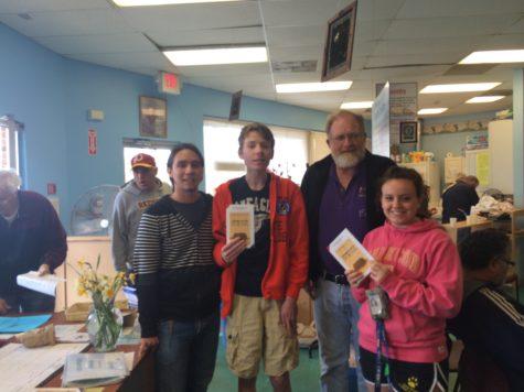 English Class brings reading at World Book Night