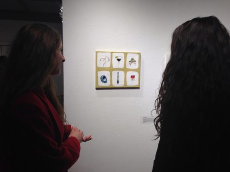 Local gallery showcases students' art