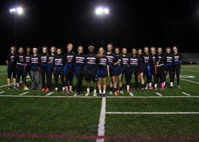 Seniority Rules: Senior team cruises to 37-14 victory in girls Powder Puff game