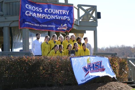 Girls Cross Country Takes Second at States