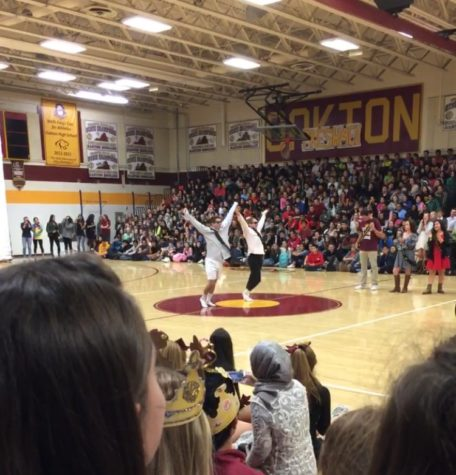 The Classic, but always enjoyable Pep Rally