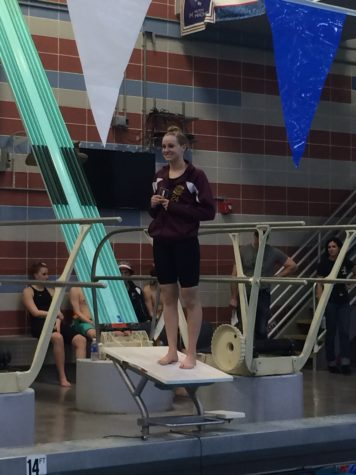 Cougars Swim/Dive places third and sixth in Regions Meet