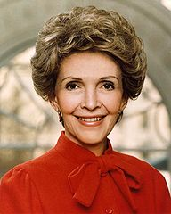 Remembering Nancy Reagan, icon of the '80s