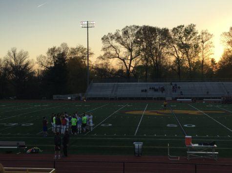 Oakton Varsity Soccer secures a win over Chantilly