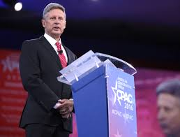 Third party candidate Gary Johnson (pictured) is polling as high as 15% in many states, and alongside Green Party nominee Jill Stein aims to gain entrance into upcoming presidential debates (photo courtesy Google Image