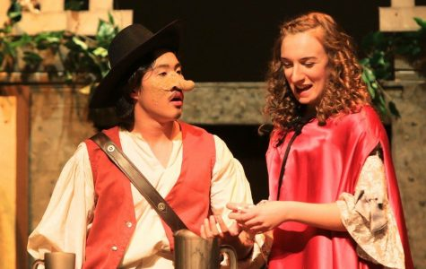 """Graceful yet lively shows of """"Cyrano!"""" this weekend"""