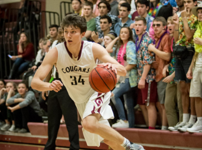 Doubleheader basketball games versus Chantilly