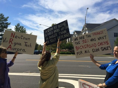 Local demands for an end to gun violence