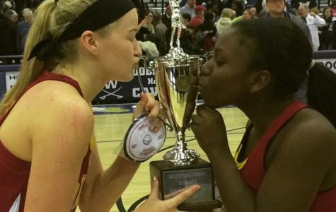 Girls basketball are regional champions