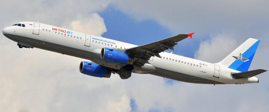 The Metrojet plane crashed into Sinai killing 224 people on the plane.