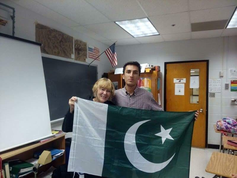 So Its Been Saeed: Pakistani exchange student sets out to shatter stereotypes from around the world