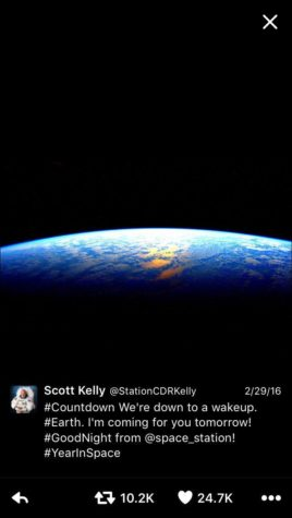 Astronaut Scott Kelly achieves a long feat in space