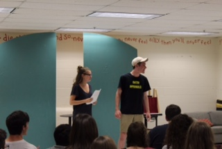 Oakton Improv Team Holds Team Tryouts