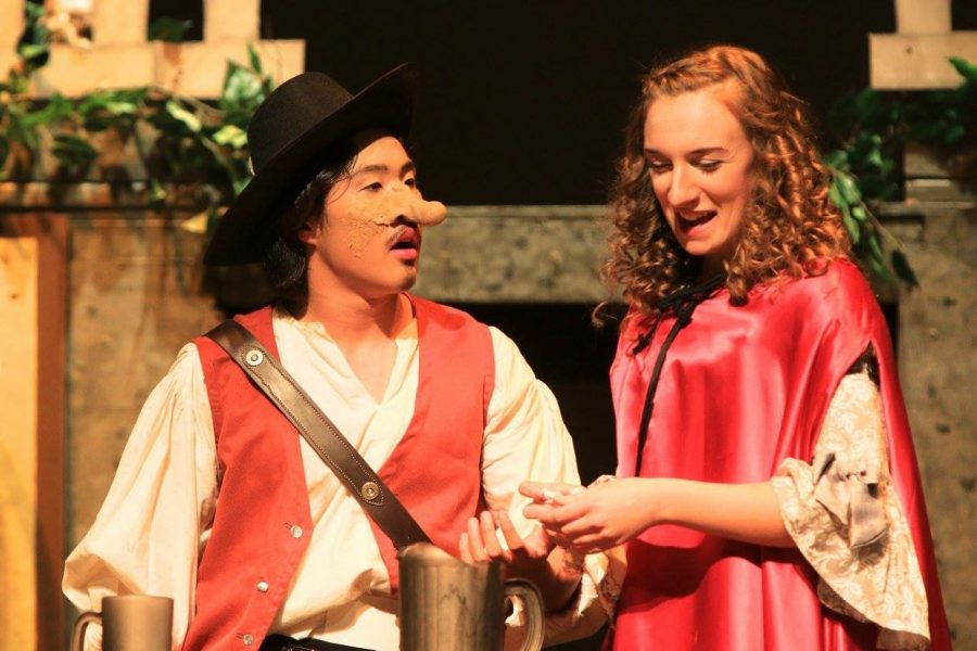 Graceful yet lively shows of Cyrano! this weekend