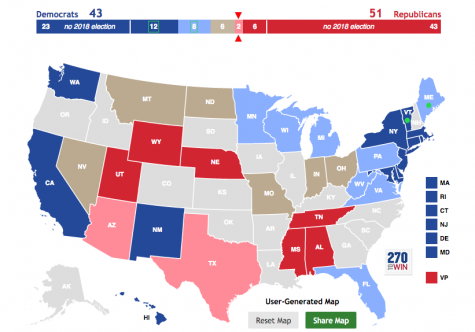Trump Won States Map.Can The Democrats Really Take The Senate In 2018 Oakton Outlook
