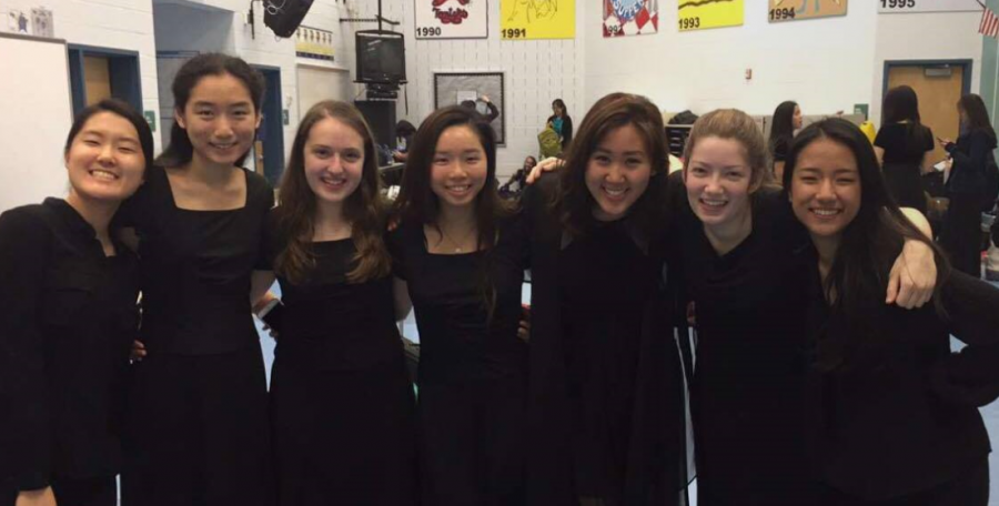 Many Oakton students who performed in SRO last year are a part of the orchestra this year as well.