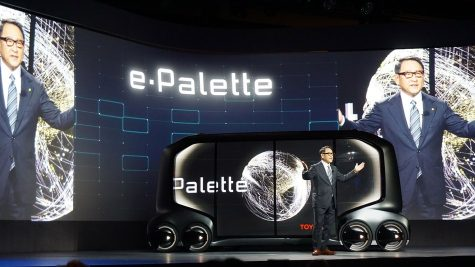 The Toyota E-Palette: Autonomous vehicle platform like no other