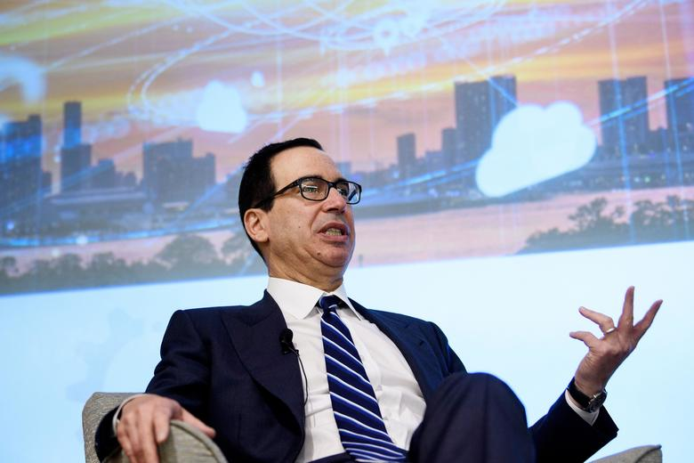 Treasury Secretary Steven Mnuchin, courtesy of Slate
