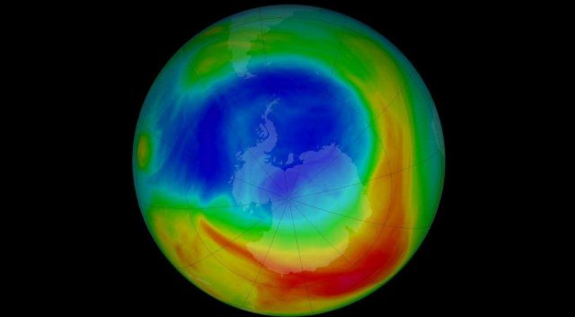 Hole in the Ozone Layer is Shrinking