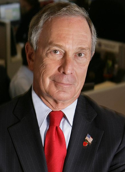 Former New York Mayor, Michael Bloomberg. Courtesy of Wikimedia Commons.