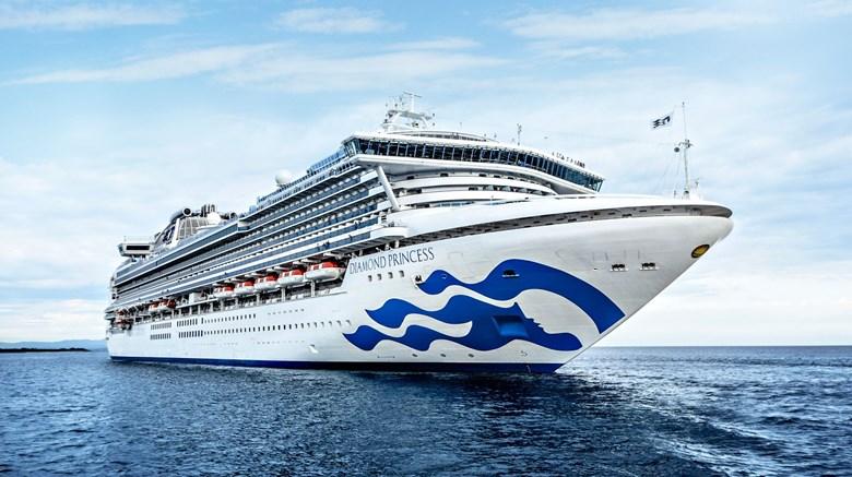Diamond Princess Cruise Ship Under Quarantine