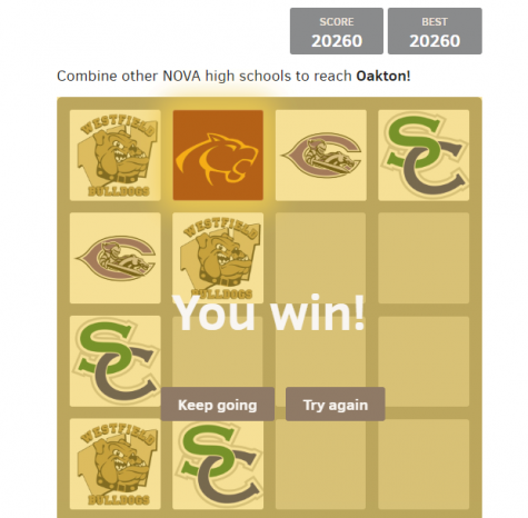 OHS Spin-off of the 2048 Game