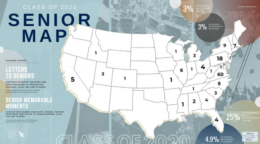 Class of 2020 Virtual Senior Map