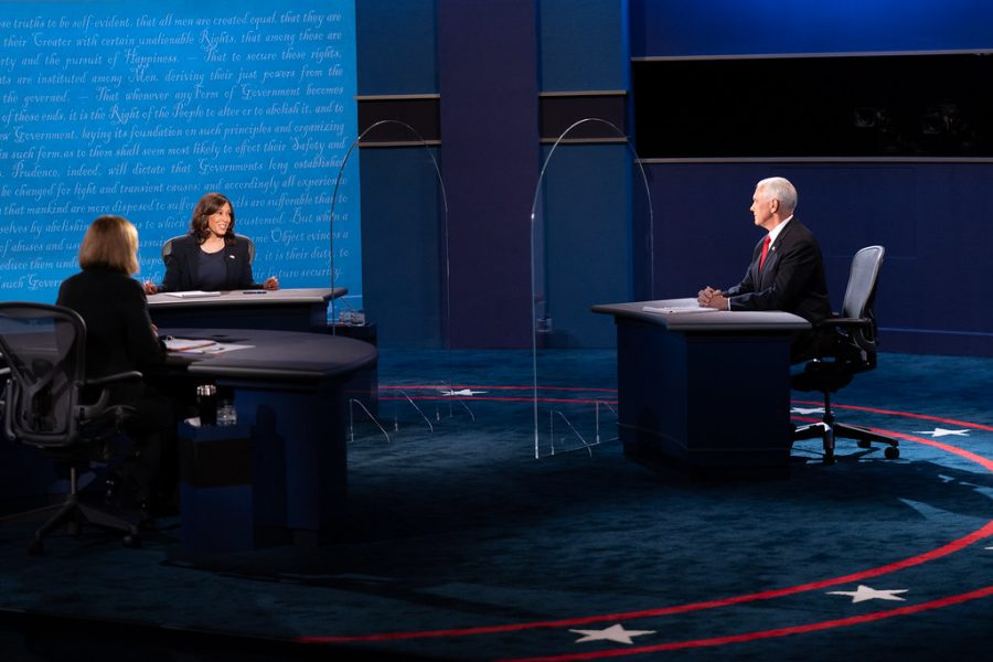How did Trump's actions affect the way Pence had to debate?